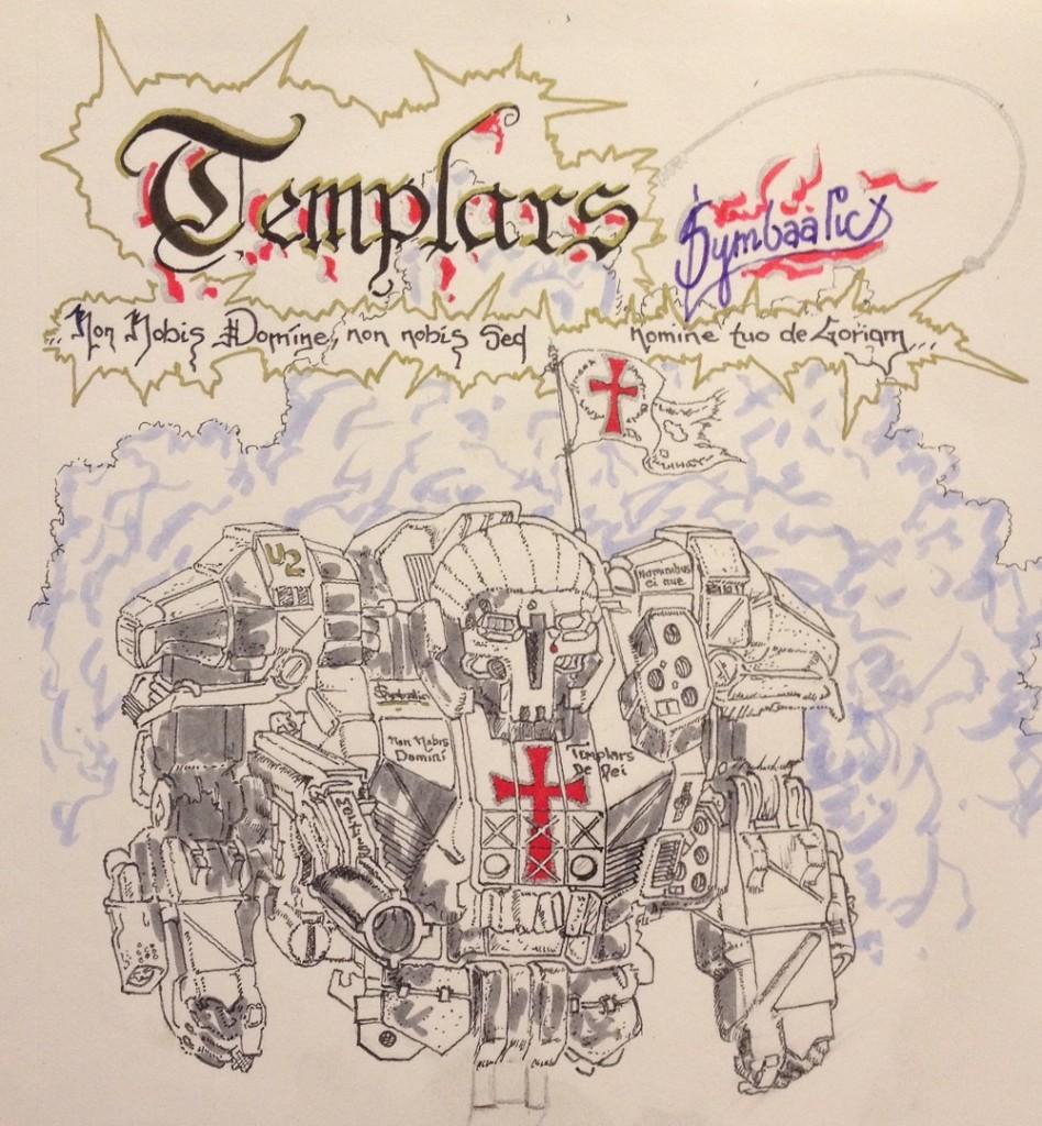 Templars Bangin' Doors